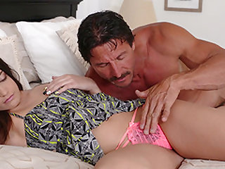 Vivacious Avi Love bouncing on a pulsating dick without control