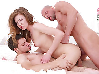 Awesome MMF action with Kastiel Cherry, Melissa Grand and Yan