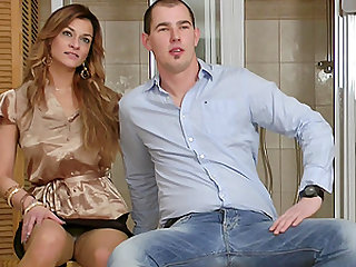 Lustful group banging with salacious Samantha Jolie and others