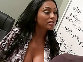 Lusty teacher Priya Rai gets penetrated by her student's hard shaft