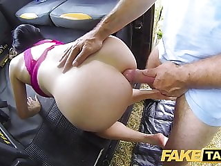 Fake Taxi Tight anal fuck for sexy Spaniard after back seat