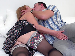 Granny Katalina gets her pussy eaten out like never before