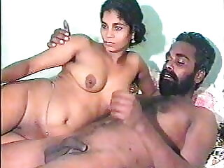 Sweet indian girl with 2 men (vintage 90s)