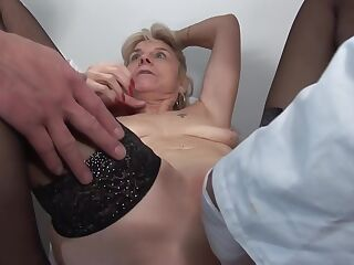French Mature Slut Fabienne and Steffy Gets A Great Clinical Anal Examination 1920x1080 4000k