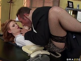 Breathtaking Euro Slut Tarra White Gets Ass Fucked In an Office