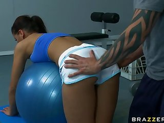 Anal Fucking To Work Out Angel Dark Big Ass