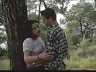 Turkish Nympho Gets Fucked By A Big Cock Outdoors