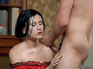 Sexy Brunette Babe Gets Facialized in a Le Pornographe Hot Scene