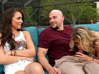 Cory Chase, Kharlie Stone & JMac in My Friend's Hot Mom
