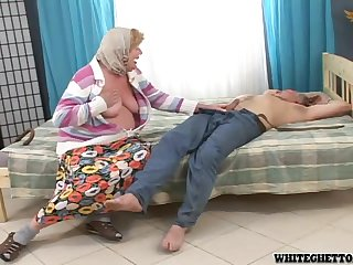 Naughty and Grandpa Fucking Together in a Crazy Hardcore Video
